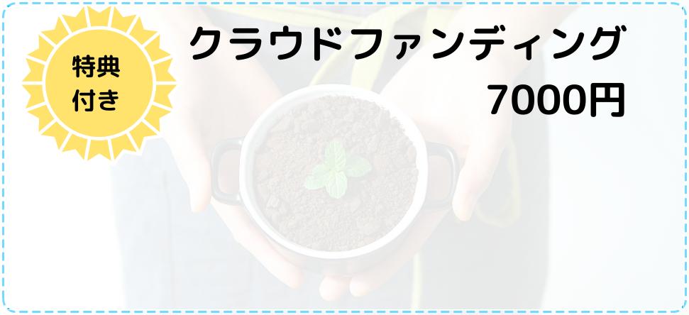 クラファン7000円